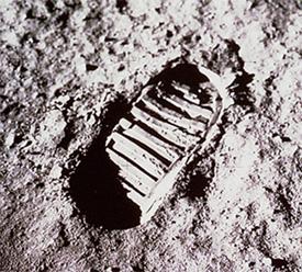 nasa moon footprint - photo #2