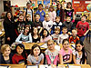 Fourth-grade class from Emily Dickinson Elementary