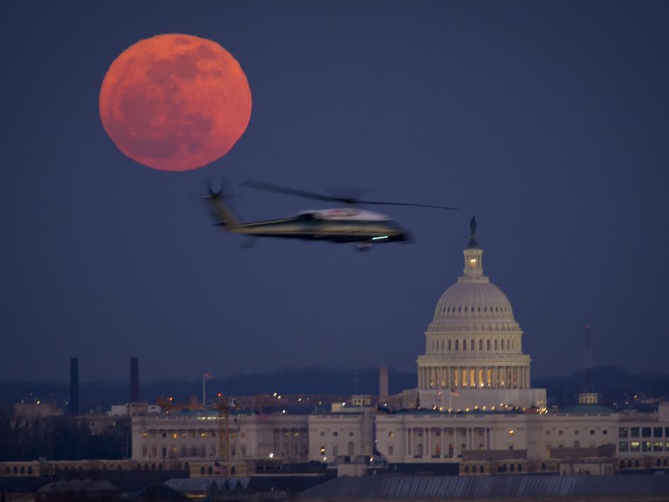 Full Moon Over Washington | NASA