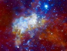 Buraco negro supermassivo Sagittarius A