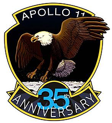 Apollo 11 35th Anniversary mission patch