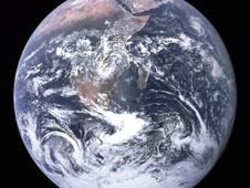 Blue Marble image of the Earth