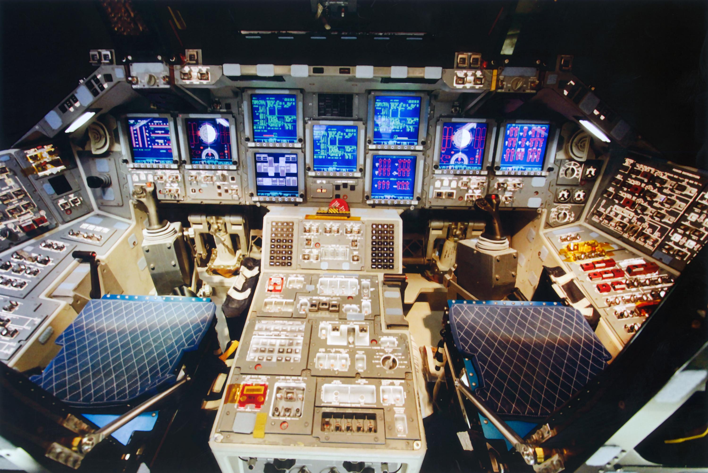 space shuttle cockpit bilder - photo #37