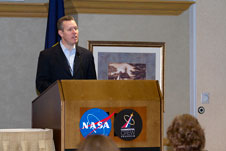 Phil McAlister at Commercial Crew Program event.