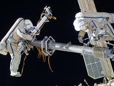 ISS030-E-078532: Expedition 30 spacewalk