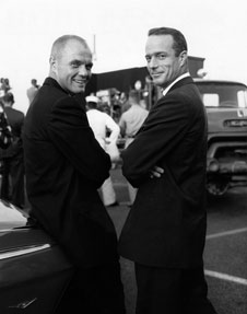 John Glenn and Scott Carpenter during Mercury.
