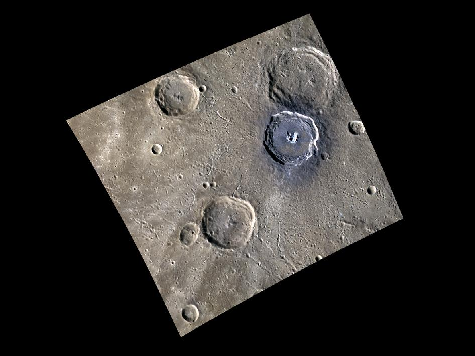 Image from Orbit of Mercury: Blue Degas