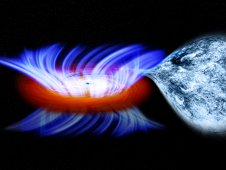 Concept of a binary system containing a stellar mass black hole called IGR J17091 3624