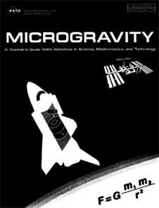 Cover of the Microgravity Educator Guide