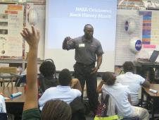 NASA Engineer Deon Williams discusses careers with NASA
