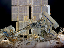 ISS030-E-078391: Russian spacewalk