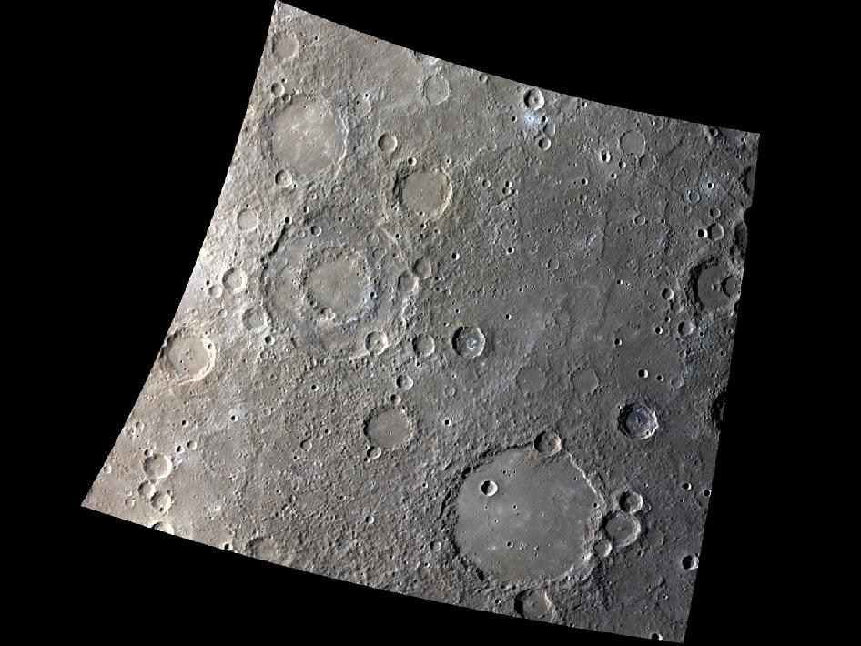 Image from orbit of mercury: A Tale of Two Basins