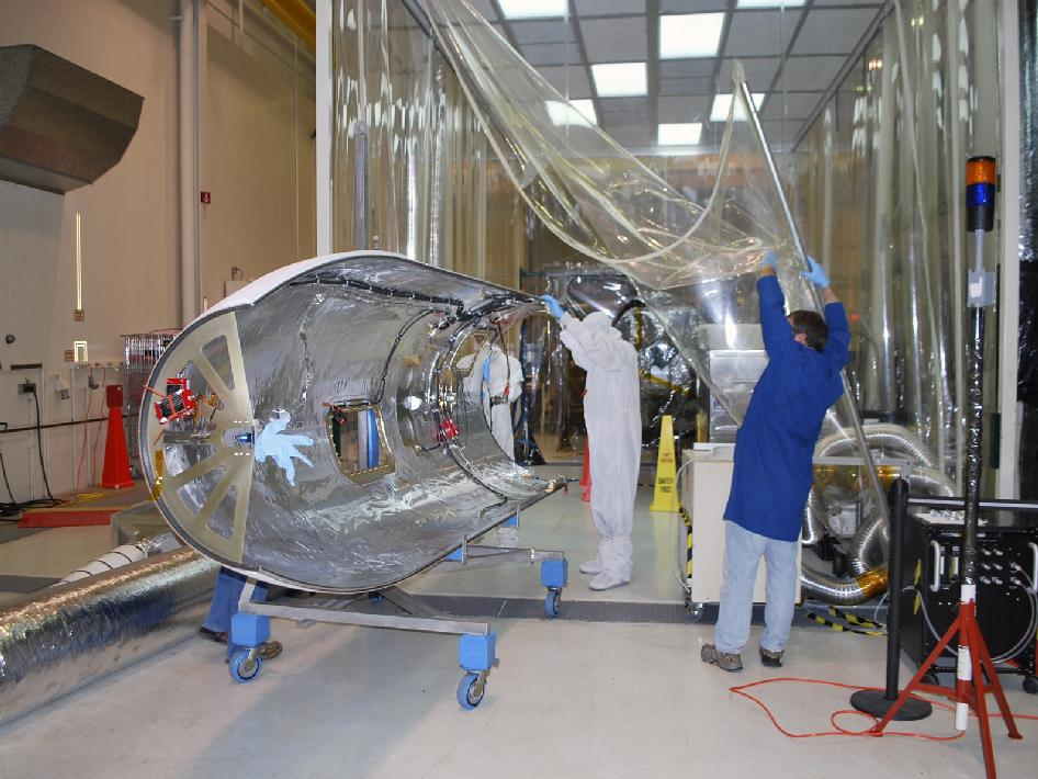 The fairing for NASA's NuSTAR spacecraft