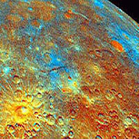 Mercury image taken by Mariner 10