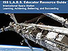 Front cover of the ISS L.A.B.S. Educator Resource Guide