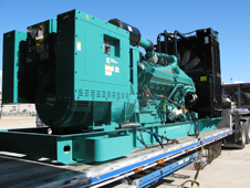 A new power diesel engine and generator for the crawler-transporter