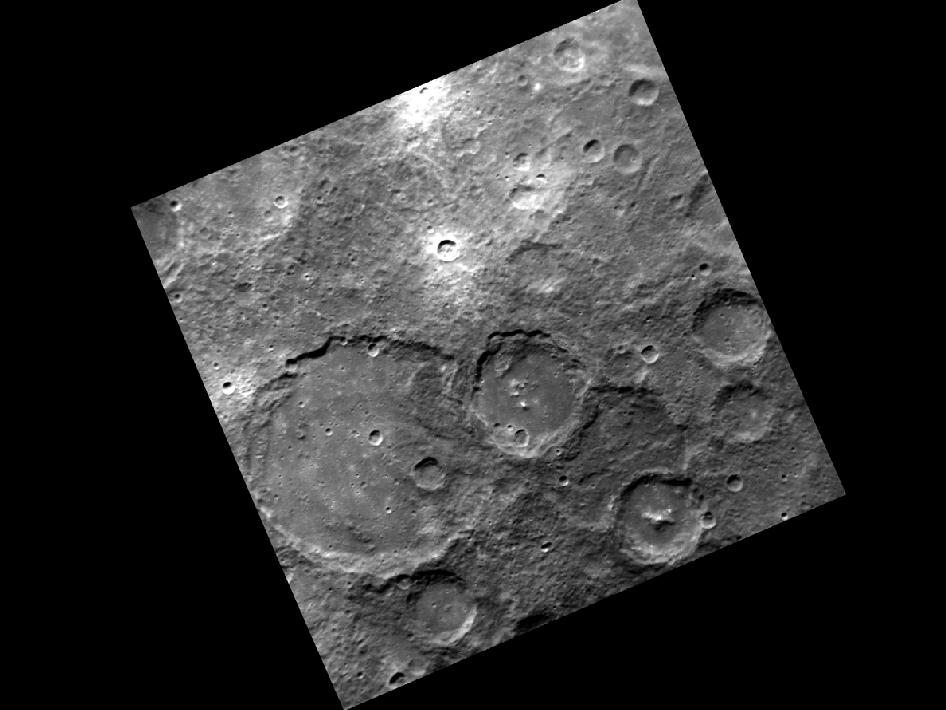 Image from Orbit of Mercury: Where the Craters Have No Name