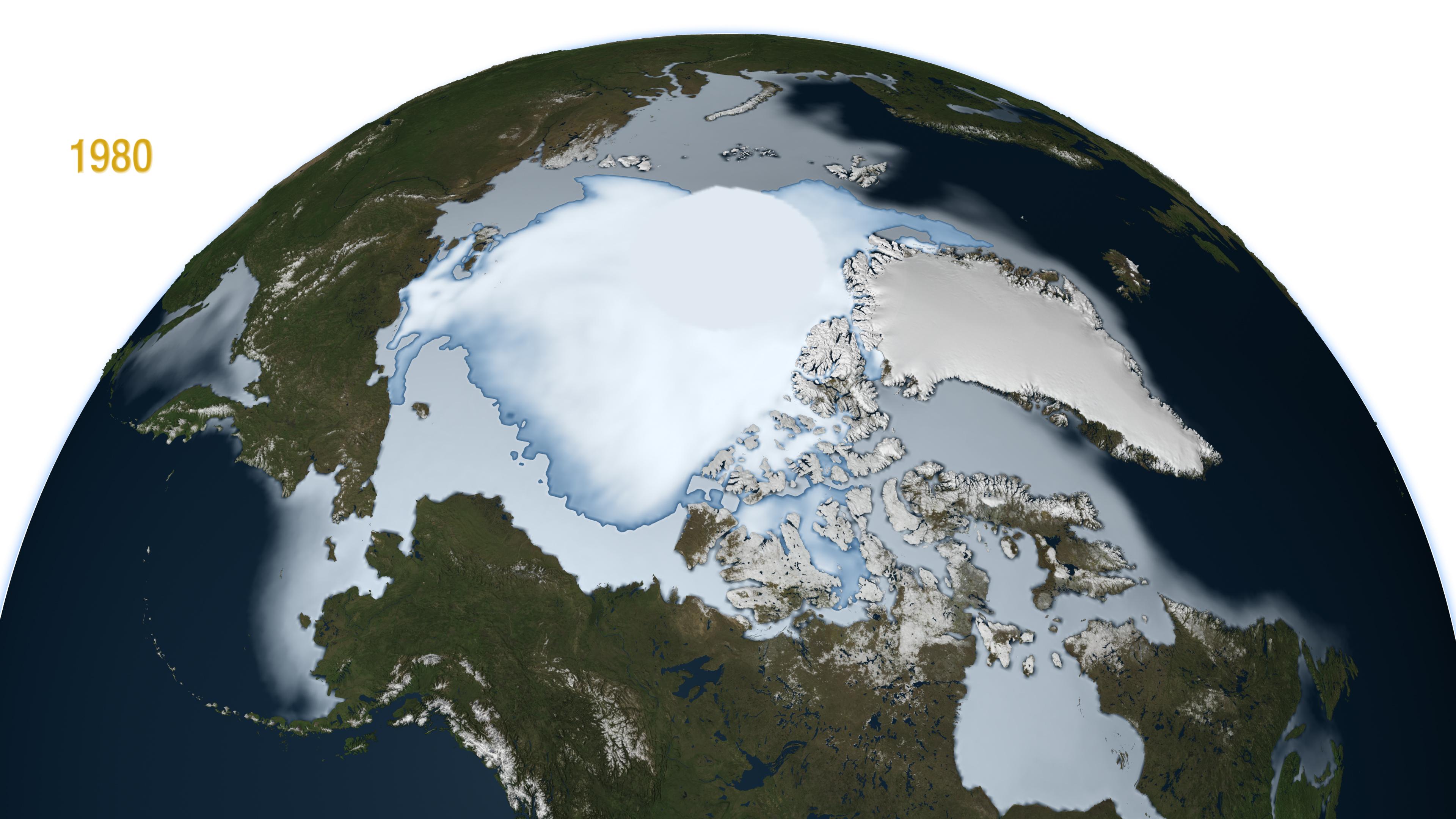 polar ice cap nasa -#main