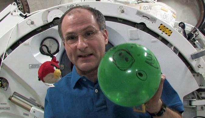 Astronaut Don Pettit