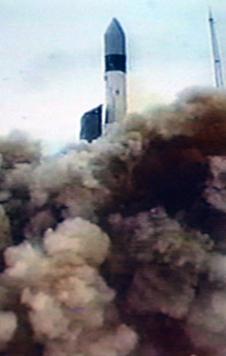 GRACE rocket launch