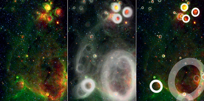 Observations from NASA's Spitzer Space Telescope