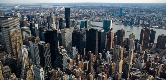 Midtown Manhattan Skyline. U203a