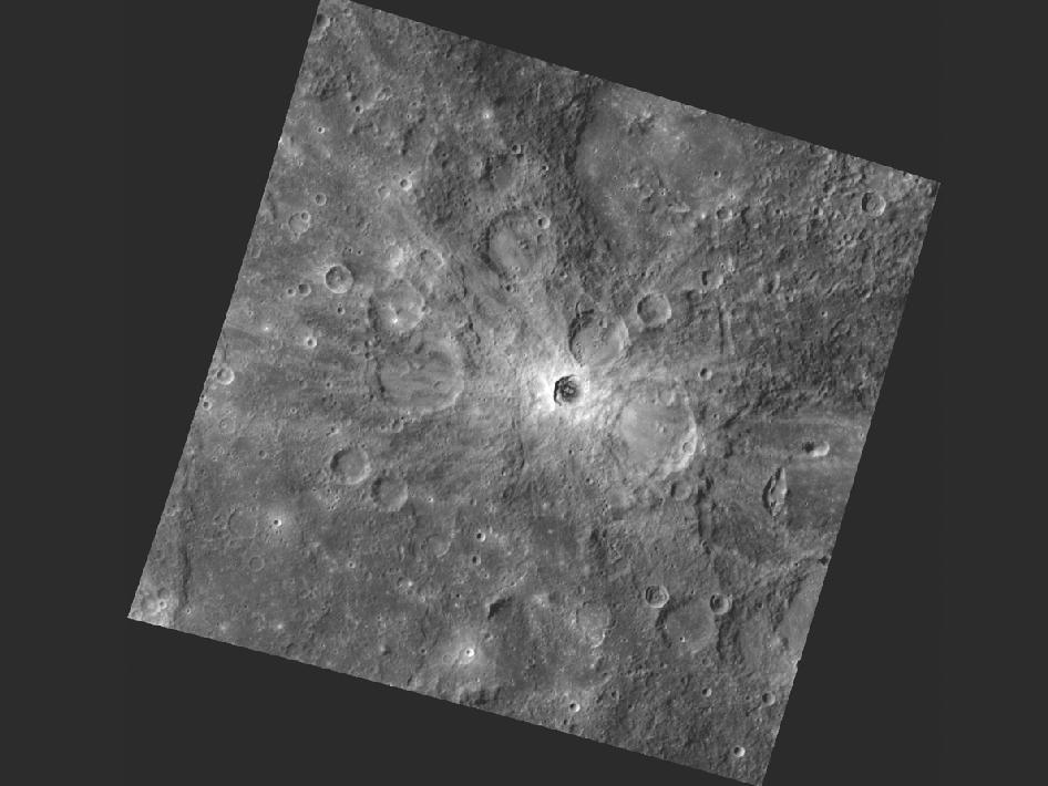 Image from Orbit of Mercury: Rays the Roof