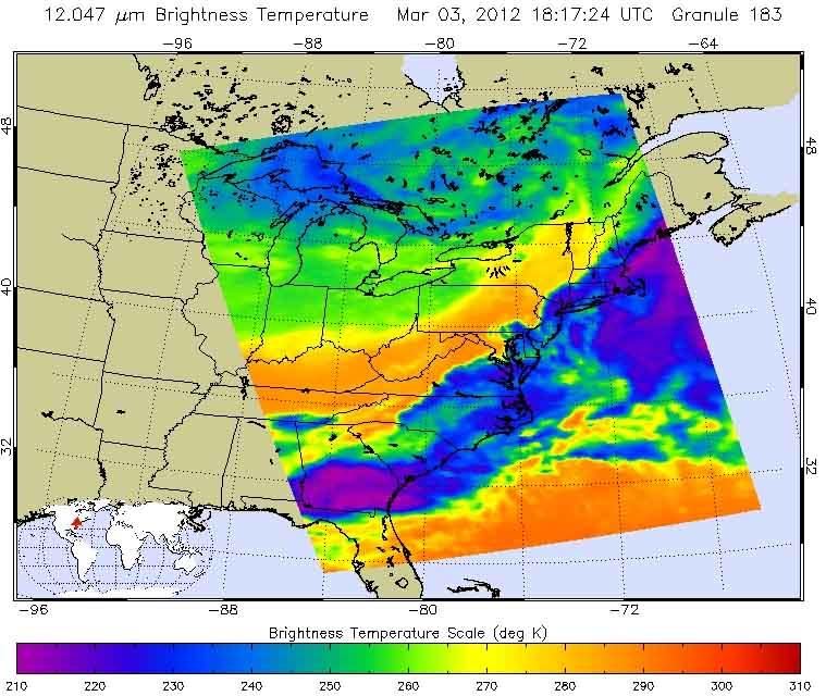 NASA Weather Map - Pics about space