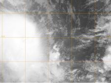 MODIS captured Tropical Storm Koji on March 8, 2012 at 1616 UTC as it moved through the Southern Indian Ocean.