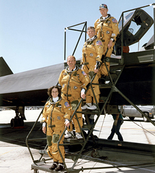 Bob Meyer and SR-71