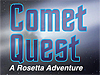 Screenshot of the Comet Quest title screen