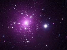 Composite image of galaxy cluster Abell 383
