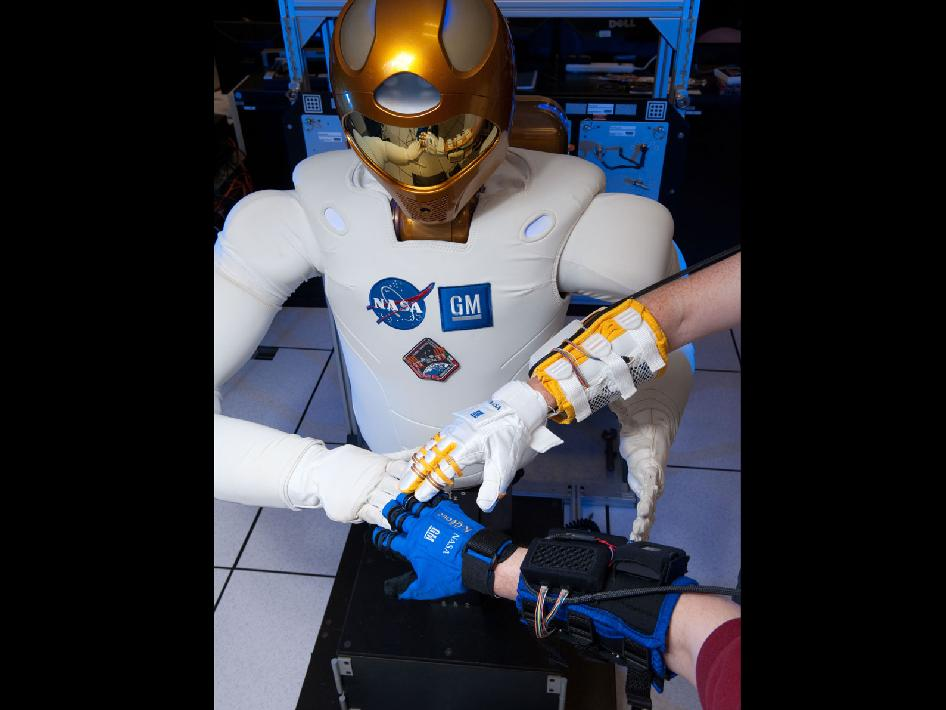 Robonaut and Robo-Glove