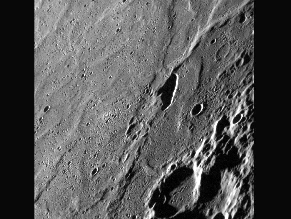 Image from Orbit of Mercury: Pit(ch) Black