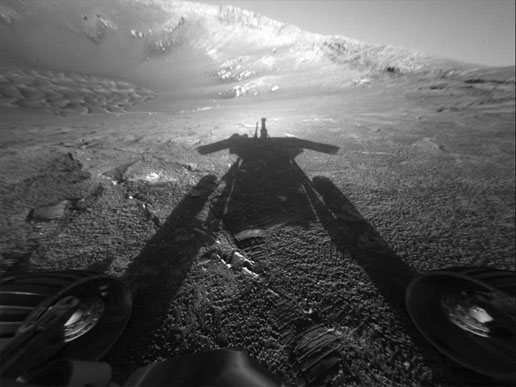 NASA - Opportunity: Me and My Shadow
