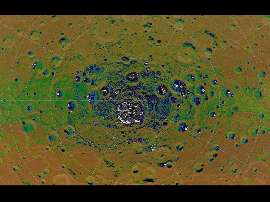 Image from Orbit of Mercury: Mercury's Topography from MLA