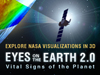 Artist's concept of Eyes on the Earth 2.0. Explore NASA visualizations in 3D.