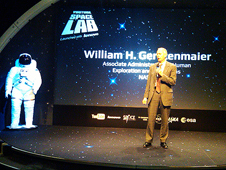 William Gerstenmaier, associate administrator for NASA's Human Exploration Mission Directorate