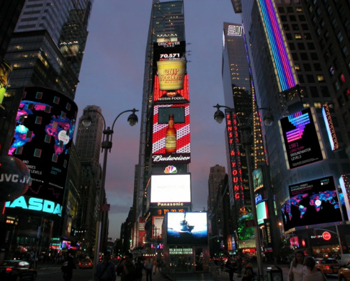 [ Photo: Times Square, New York City ]