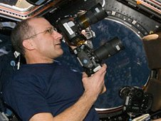 Astronaut Don Pettit takes photographs of the Earth as part of the Crew Earth Observations investigation from aboard the International Space Station. (NASA)