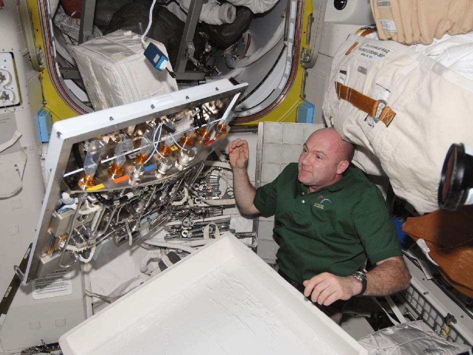 Astronaut Andre Kuipers