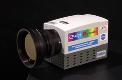 An infrared camera used in detecting brain tumors.