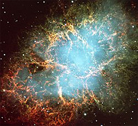 Image of the Crab Nebula