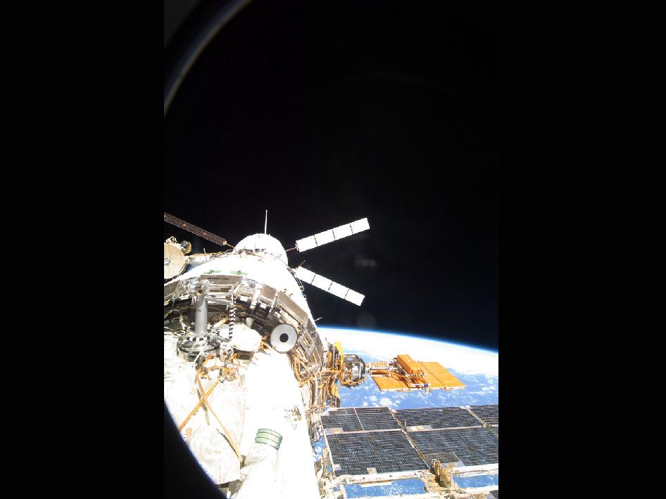 The ATV-3 Docks With the International Space Station
