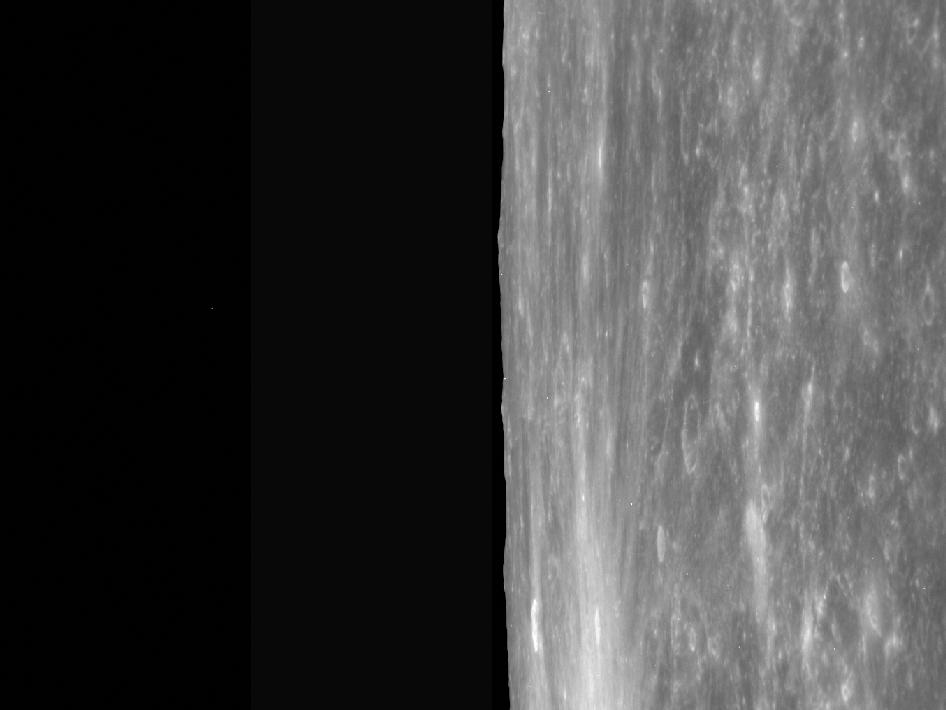Image from Orbit of Mercury: Ride Along with the NAC