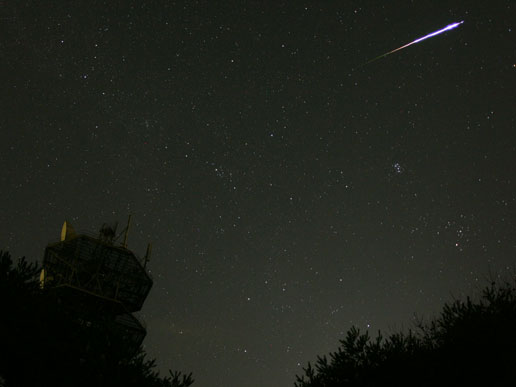 Perseids over Japan