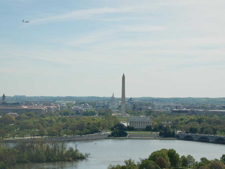 Science and Technology: T-38 Aircraft Fly Over Washington