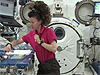 Astronaut performs the Liquid Pepper experiment