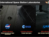 Screenshot of space station labs interactive feature