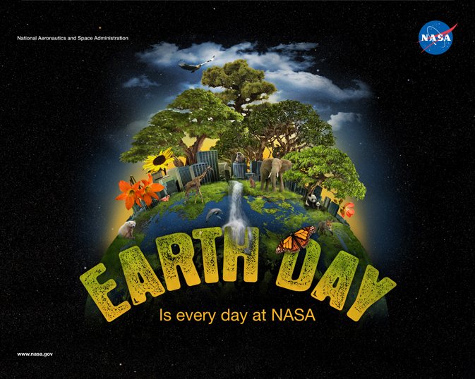NASA's 2011 Earth Day poster
